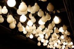 Lampy na suficie Obrazy Royalty Free