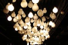 Lampy na suficie Zdjęcia Stock