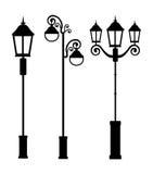 Lampy projektują, wektorowa ilustracja ilustracji