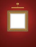 lampy pusta ramowa ściana Obraz Royalty Free