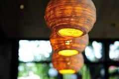 Lampy robić łozinowy Zdjęcie Stock