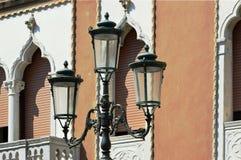 Lampy w Veneto obrazy royalty free