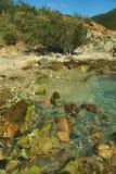 Lamsheur Bay Cove - St, John Royalty Free Stock Photos