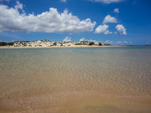 Lamu beach, Kenya Royalty Free Stock Images