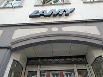 Lamy-Schreibens-Instrumentspeicher Lizenzfreie Stockfotografie
