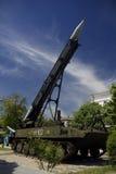 Lançador de foguete móvel Fotografia de Stock Royalty Free
