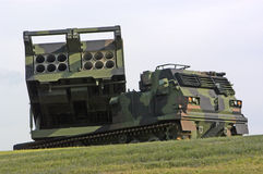 Lançador de míssil Imagem de Stock Royalty Free