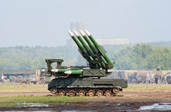 Lançador de míssil de Buk-M Imagens de Stock