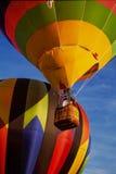 Lançamento do balão de ar quente foto de stock royalty free