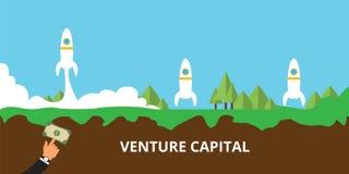 Lançamento do capital de risco sua partida Fotos de Stock