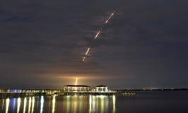 Lançamento do delta IV Fotografia de Stock Royalty Free