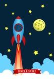Lançamento do foguete de espaço Fotografia de Stock