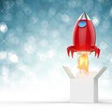 Lançamento do vaivém espacial Imagens de Stock