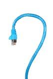 lan кабеля Стоковое фото RF