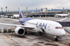 LAN Airlines Boeing 787-8 Dreamliner Images libres de droits