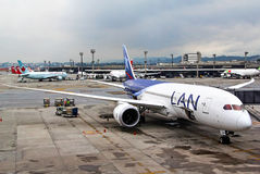 LAN Airlines Boeing 787-8 Dreamliner Royalty Free Stock Images