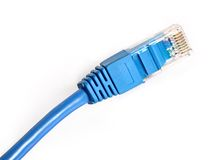 LAN cable Royalty Free Stock Images