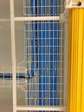 LAN Cable ledningsnät på kabelkuggen arkivbilder
