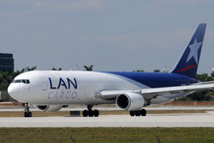 LAN Chile cargo jet Stock Photography