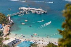 Lan del KOH della spiaggia di Tawang Immagini Stock Libere da Diritti