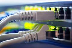 LAN distributor switch hub stock images