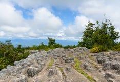 Lan Hin Pum (natural phenomenon) at Phu Hin Rong Kla national pa Royalty Free Stock Images