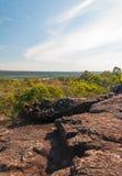 Lan Hin Tak Landscape, Amazing Natural split of rock Royalty Free Stock Images