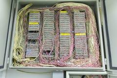 Lan-Kabel Stockfoto