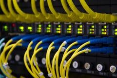 LAN-kabel royaltyfri fotografi