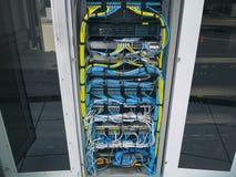 LAN-kabeln royaltyfria bilder