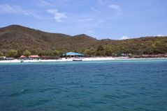 Lan Ko, hae koh, остров коралла в Паттайя, Таиланде, Азии Стоковое фото RF