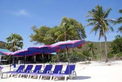 Lan Ko, hae koh, пляж острова коралла в Таиланде, Азии Стоковые Изображения RF