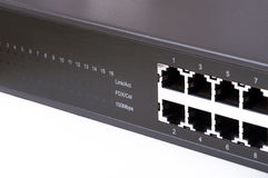 LAN network switch Royalty Free Stock Image