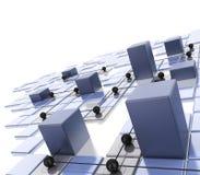 Lan-Netz Lizenzfreie Stockfotos