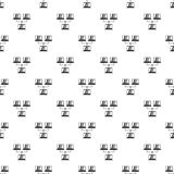 LAN pattern, simple style. LAN pattern. Simple illustration of LAN vector pattern for web Royalty Free Stock Images