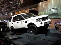 Lan Rover Discovery Geneva 2014 Stockbilder