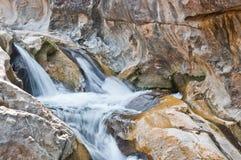 Lan Sang Waterfalls natural detail. Lan Sang Waterfalls natural park detail Royalty Free Stock Photo