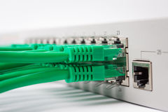 Lan Switch Royalty Free Stock Photography