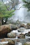 LAN-vattenfall för 2 klong Arkivfoton