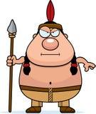 Lança do nativo americano dos desenhos animados Imagem de Stock Royalty Free