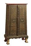 Lana wood kabinett guld- Arkivfoton