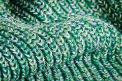 Lana verde Immagine Stock