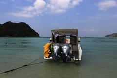 Lanah Bay, Loh-Dalum Bay, Phi Phi,  Thailand Royalty Free Stock Photo