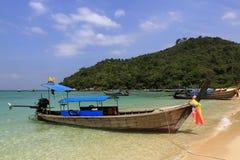 Lanah Bay, Loh-Dalum Bay, Phi Phi,  Thailand Stock Photo