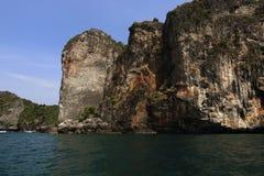 Lanah Bay, Loh-Dalum Bay, Phi Phi,  Thailand Stock Image
