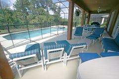 lanai basenu zdrój Zdjęcia Royalty Free