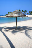 lanai na plaży Obrazy Royalty Free