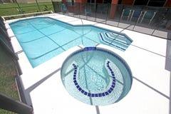 lanai pool spa Στοκ Φωτογραφία