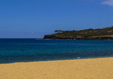 Lanai Sandy Beach Stock Photo