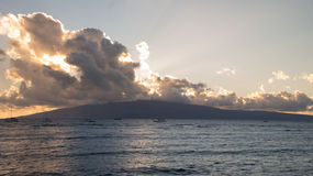 Lanai Sunset Stock Image
